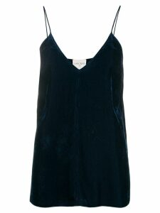 Forte Forte flared camisole top - Blue