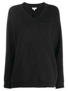 Kenzo V-neck sweatshirt - Black