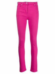 Kenzo high waisted skinny jeans - PINK