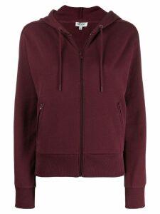 Kenzo zip front hoodie - Red