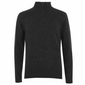 Barbour Lifestyle Wool Half Zip Sweater