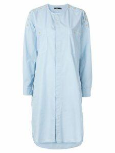 Bassike shirt dress - Blue