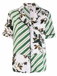 Diane von Furstenberg multi-panel shirt - PINK