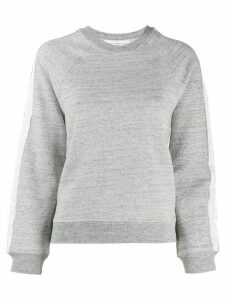 Golden Goose side stripe sweatshirt - Grey