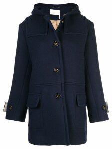 Chloé hooded coat - Blue