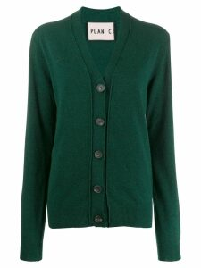 Plan C classic cardigan - Green