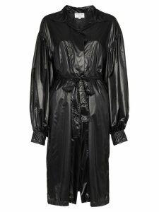 Collina Strada bin-bag style trench coat - Black