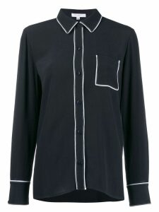 Equipment contrasting trim shirt - Blue