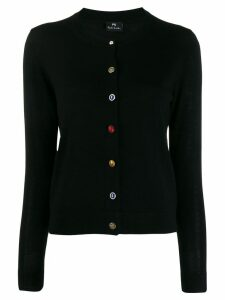 PS Paul Smith classic slim-fit cardigan - Black