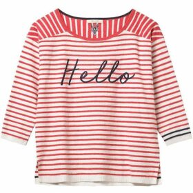 White Stuff Lido Hello Stripe Jumper