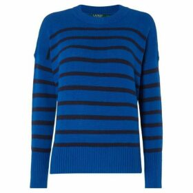 Lauren by Ralph Lauren Renae striped jumper