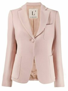 L'Autre Chose fitted blazer - PINK