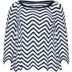 Yumi Nautical Crochet Jumper