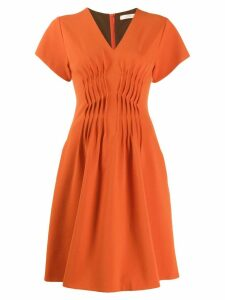 Dorothee Schumacher short flared dress - Orange