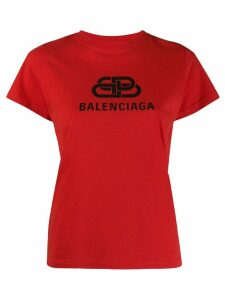 Balenciaga BB log print T-shirt - Red