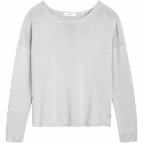 Sandwich Relaxed Fit Cotton Jumper