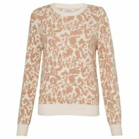 Great Plains Feathered Leopard Knit Jumper