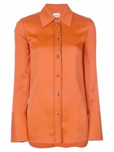 Khaite oversized shirt - ORANGE