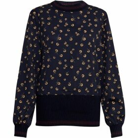 French Connection Mahi Print Knits Jumper
