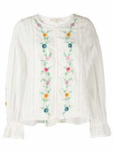 LoveShackFancy Stevie blouse - White