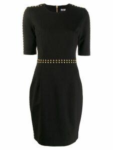 Versace Jeans Couture stud-embellished mini dress - Black