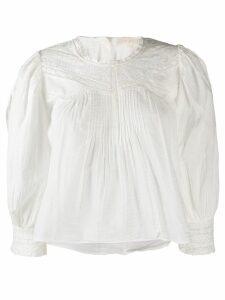 LoveShackFancy Phoebe blouse - White