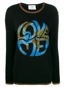 Alberta Ferretti Love Me jumper - Black