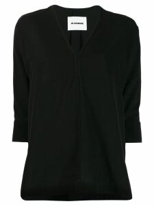 Jil Sander Lynette blouse - Black