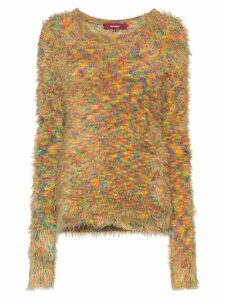 Sies Marjan Ange shaggy-knit jumper - Multicolour