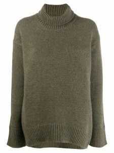 Plan C turtleneck jumper - Green