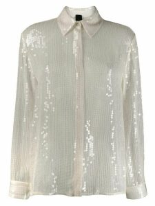 Pinko sequined shirt - White