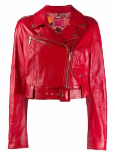 Blumarine x Salvatore Piccione biker jacket - Red