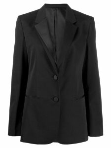 Helmut Lang single-breasted fitted blazer - Black