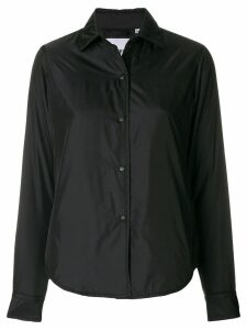 Aspesi basic shirt jacket - Black