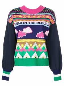 Mira Mikati Head In The Clouds sweater - Multicolour
