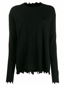 Uma Wang loose-fit cashmere jumper - Black