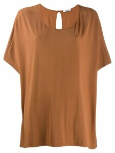 Styland oversize T-shirt - Brown