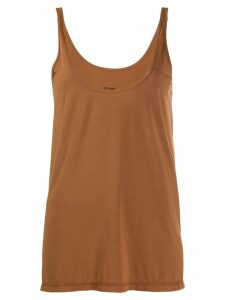 Styland swing tank top - Brown