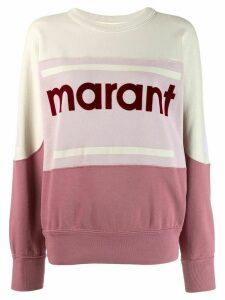 Isabel Marant Étoile Gallian logo sweatshirt - PINK
