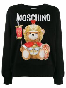 Moschino Teddy Bear print sweatshirt - Black