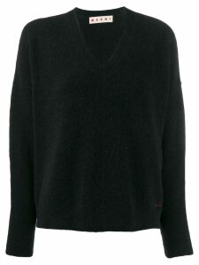 Marni textured knit jumper - Black
