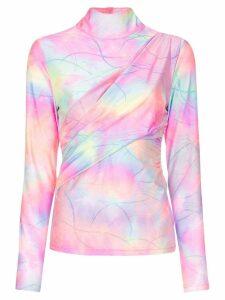 Sies Marjan Peyton glitter tie-dye top - Multicolour