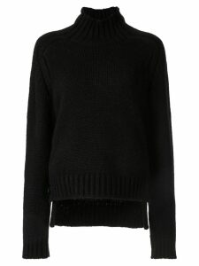 Nº21 turtle neck jumper - Black