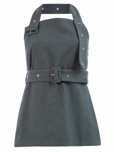Rokh belted bustier top - Grey