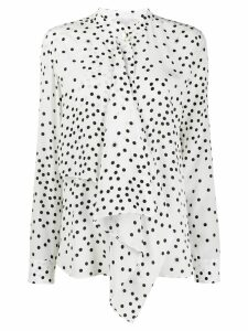 Stella McCartney polka dot print shirt - White