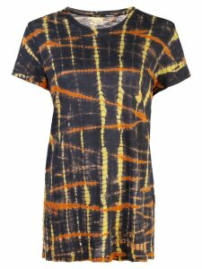 Proenza Schouler Tie Dye Short Sleeve T-Shirt - Black