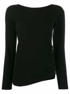 Twin-Set zipped jumper - Black