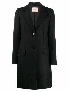 Twin-Set tailored coat - Black