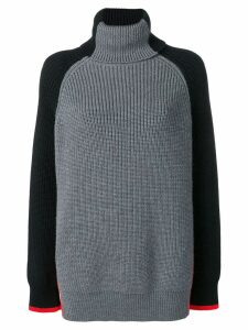 Victoria Victoria Beckham oversized turtleneck - Grey