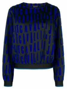 Just Cavalli repeat logo jumper - Black